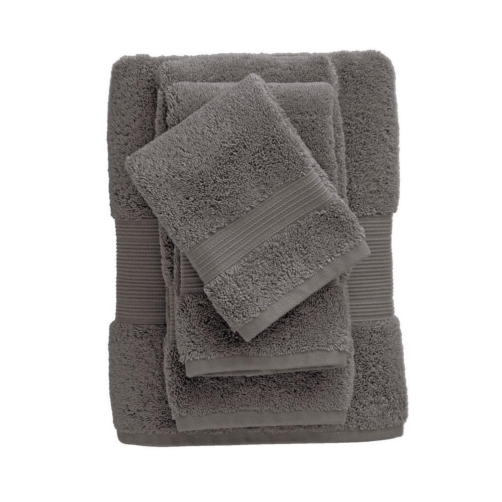 Legends Regal Seal Solid Egyptian Cotton Wash Cloth (Set of 2)