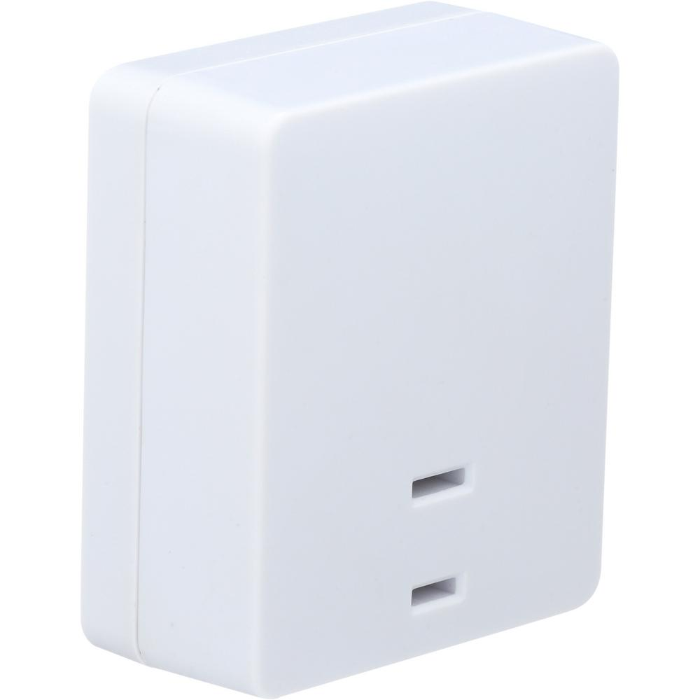 Westek 200 Watt Touch Lamp On Off Plug In Light Switch Control White