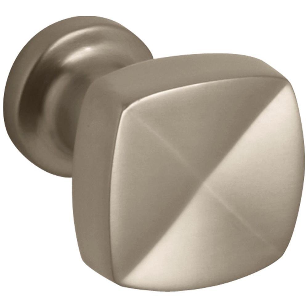Margaux 15/16 in. Vibrant Brushed Bronze Cabinet Knob