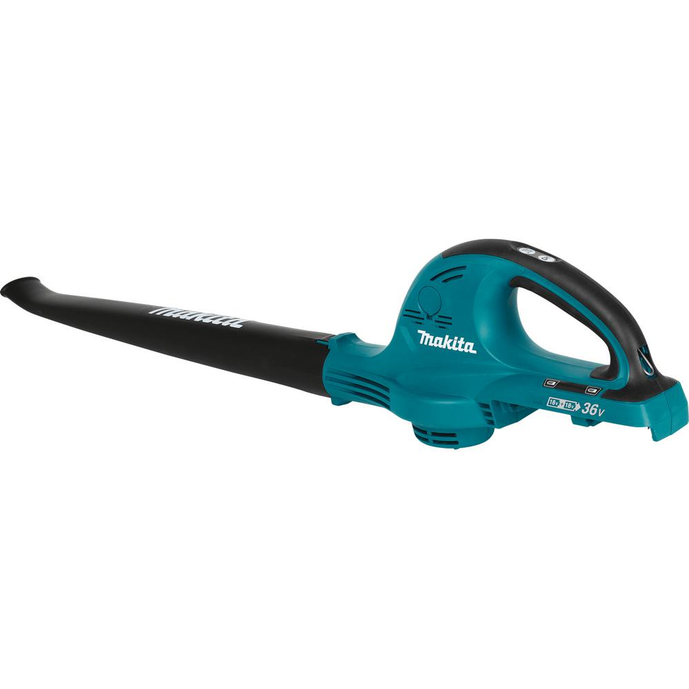 Makita 208 MPH 155 CFM 18-Volt X2 (36-Volt) LXT Lithium-Ion Electric Cordless Leaf Blower (Tool-Only)