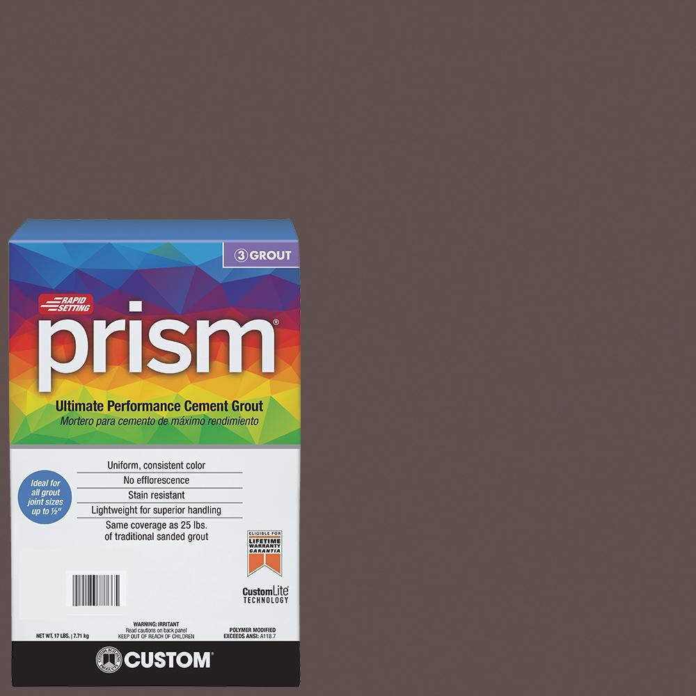 Prism #647 Brown Velvet 17 lb. Grout