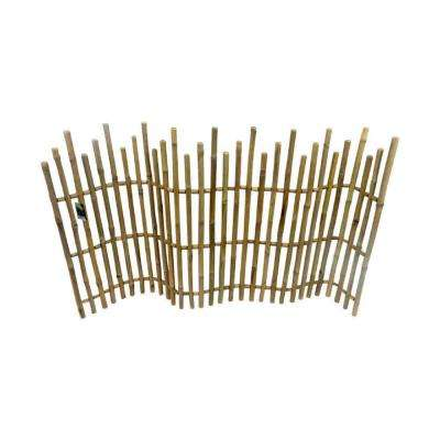 H Bamboo Picket Fence