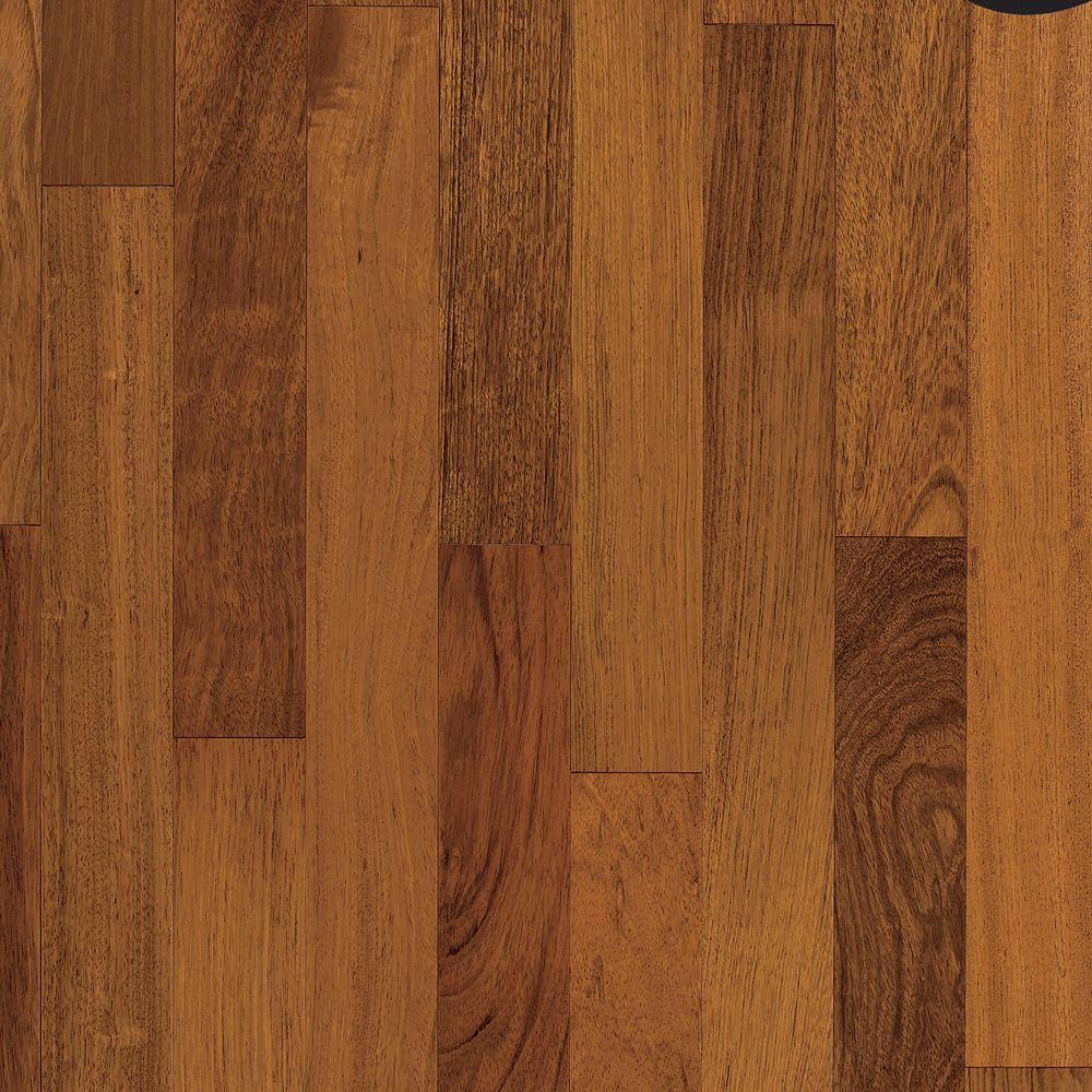 Bruce World Exotics Brazilian Cherry 3/8 in. Tx 3-1/2 in. W x Varying Length Engineered Hardwood Flooring (36.62 sq. ft./case)
