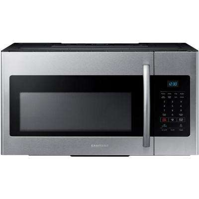 30 In W 1 6 Cu Ft Over The Range Microwave Fingerprint Resistant Stainless