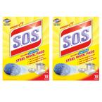 Steel Wool Soap Scouring Pads (18-Pack) (2-Boxes)