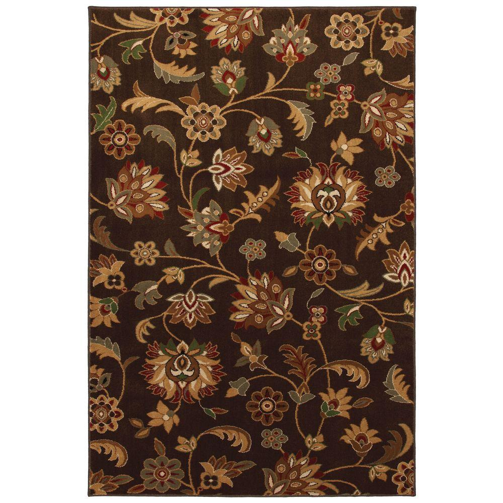 Mohawk Concord Brown 3 ft. 4 in. x 5 ft. Accent Rug-DISCONTINUED