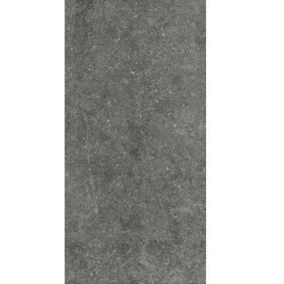 Albany Slate Gray Matte 12 in. x 24 in. Color Body Porcelain Floor and Wall Tile (9.7 sq. ft. / case)