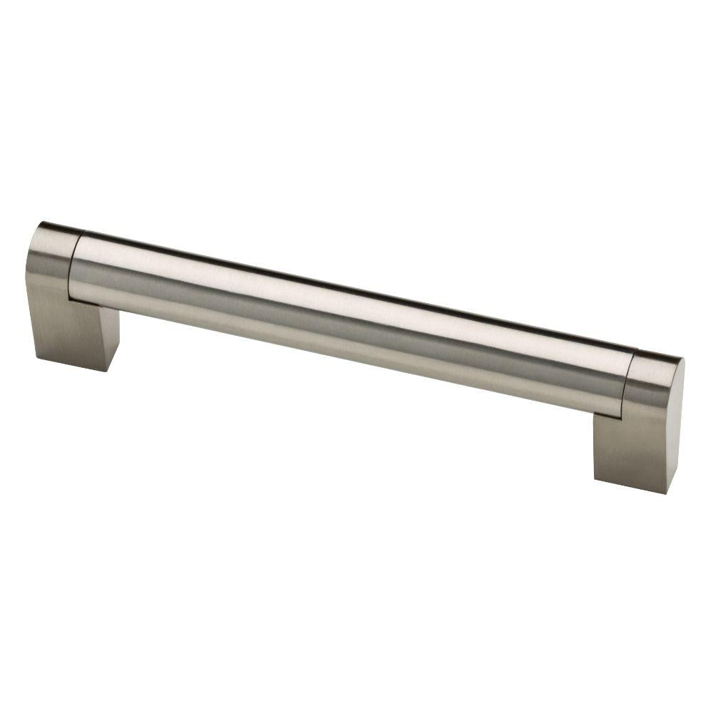 Liberty Stratford 5 1/16 In. (128mm) Stainless Steel Cabinet Pull