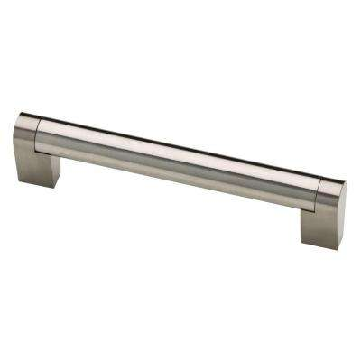 Stratford 5-1/16 in. (128mm) Stainless Steel Bar Drawer Pull
