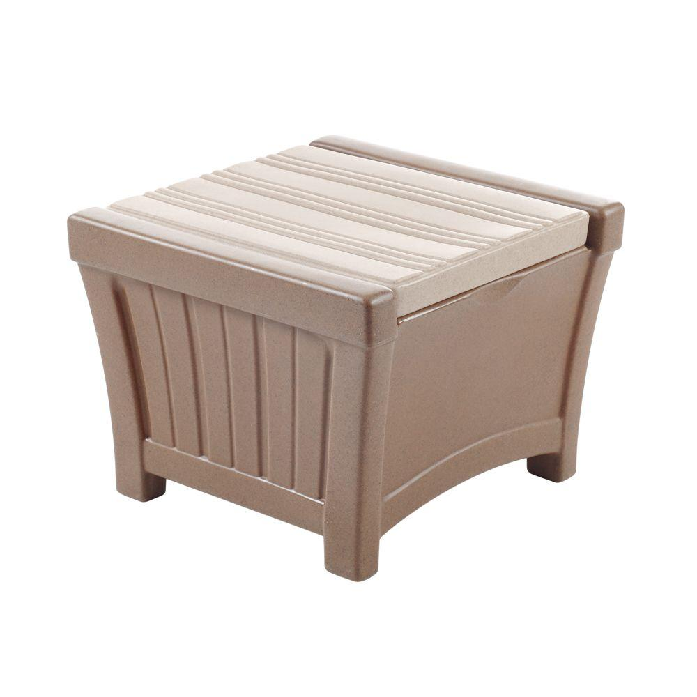 Step2 Pioneer Patio End Table with Storage-DISCONTINUED
