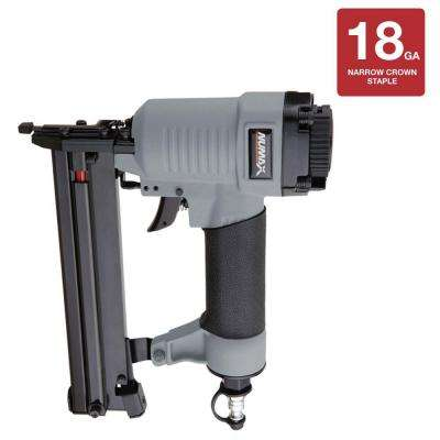 Pneumatic 1-1/4 in. x 18-Gauge Narrow Crown Stapler