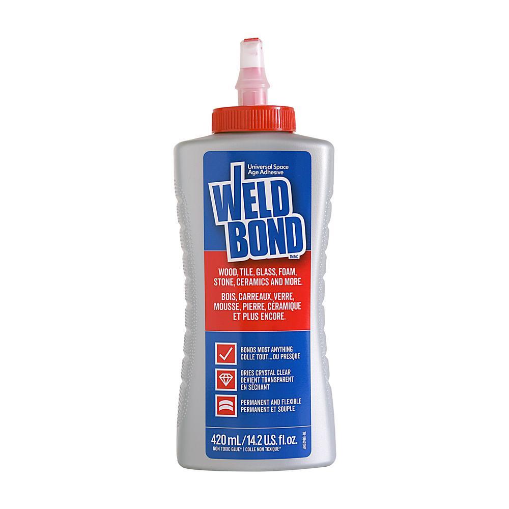 Weldbond 14.2 oz. Interior and Exterior All-Purpose Adhesive