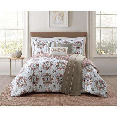 Maywood 7-Piece Multi Full and Queen Comforter Set