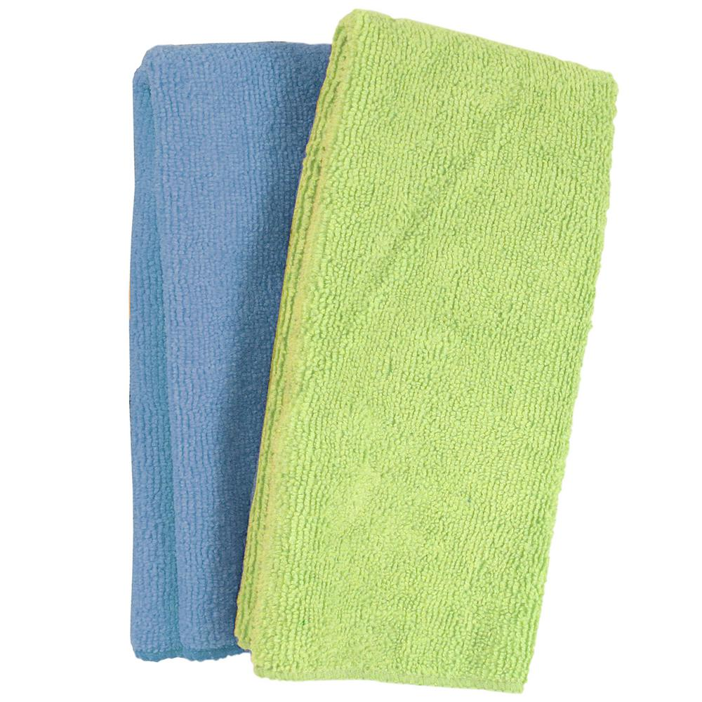 Microfiber All-Purpose Cleaning Cloths (2-Pack)