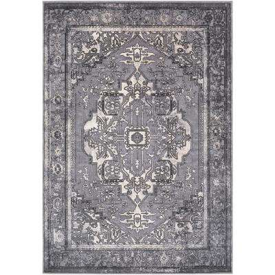 Durant Gray 9 ft. x 12 ft. Area Rug