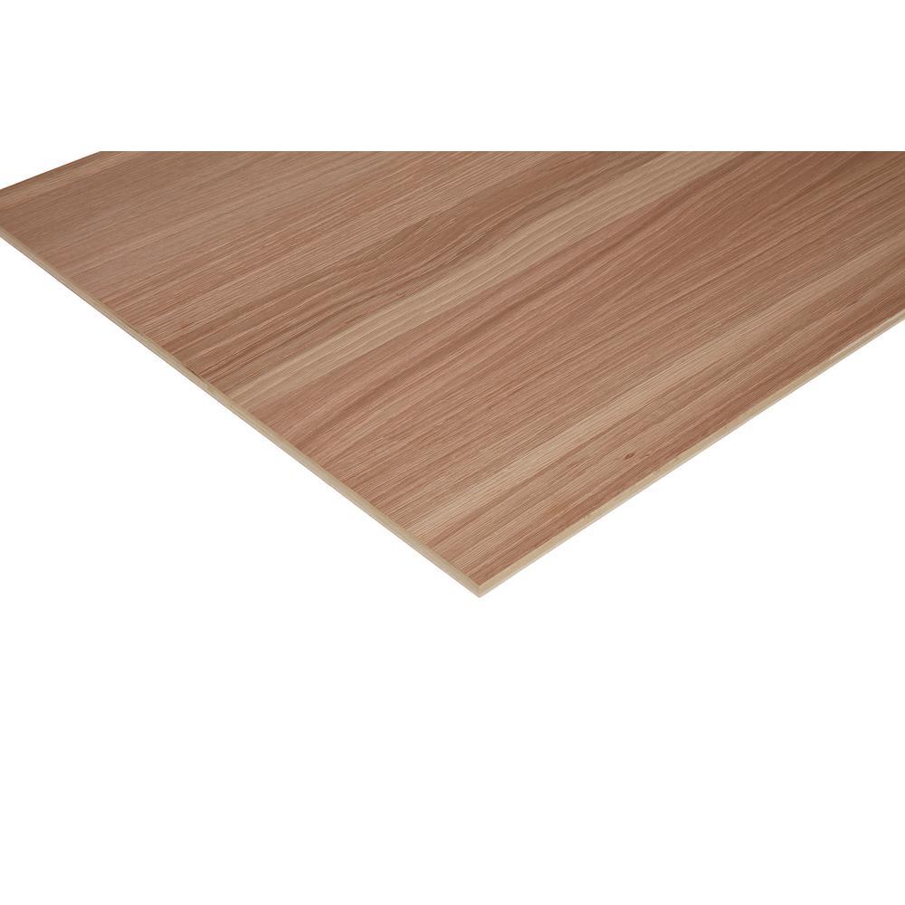 1/2 in. x 2 ft. x 2 ft. PureBond Enhanced Grain White Oak Plywood Project Panel