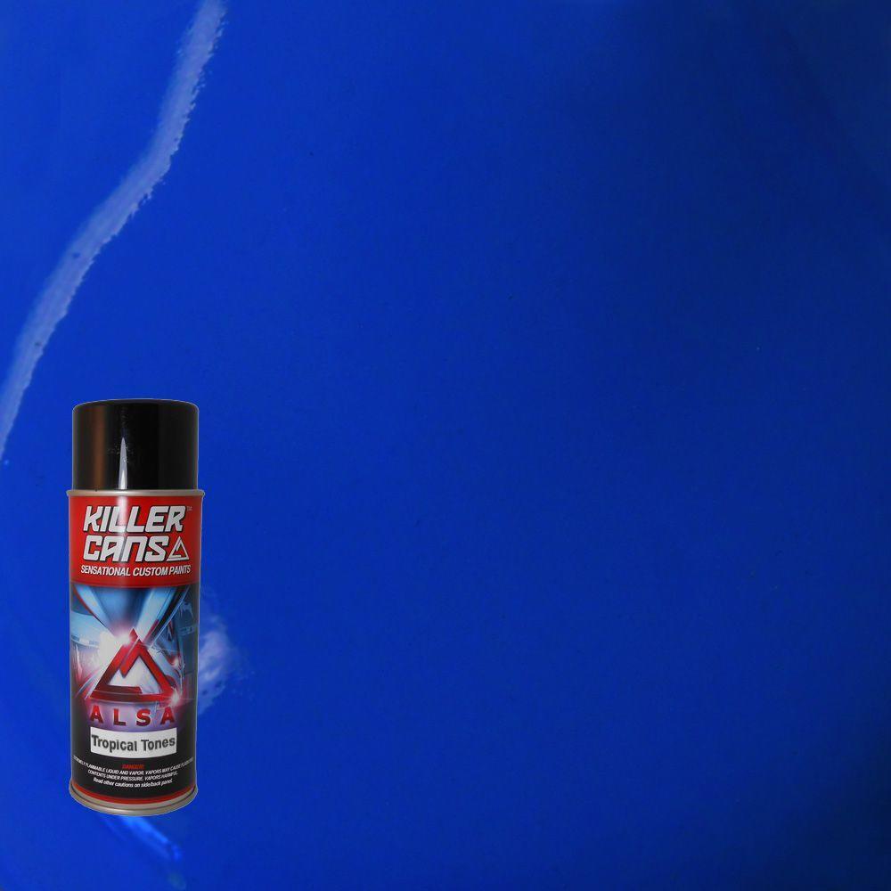 12 oz. Tropical Tones Sky Blue Killer Cans Spray Paint