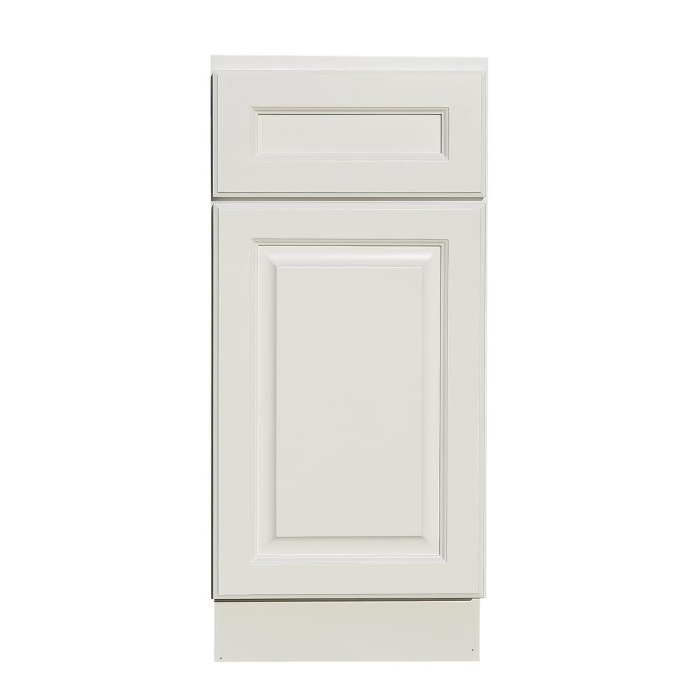 La. Newport Assembled 21x34.5x24 in. Base Cabinet with 1-Door and 1-Drawer