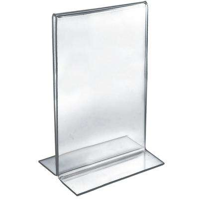 8.5 in. x  14 in. Double-Foot 2-Sided Sign Holder (Pack of 10)