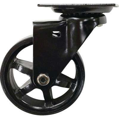 3 in. Black Bling Swivel Caster with 100 lbs. Load Capacity (4-Pack)