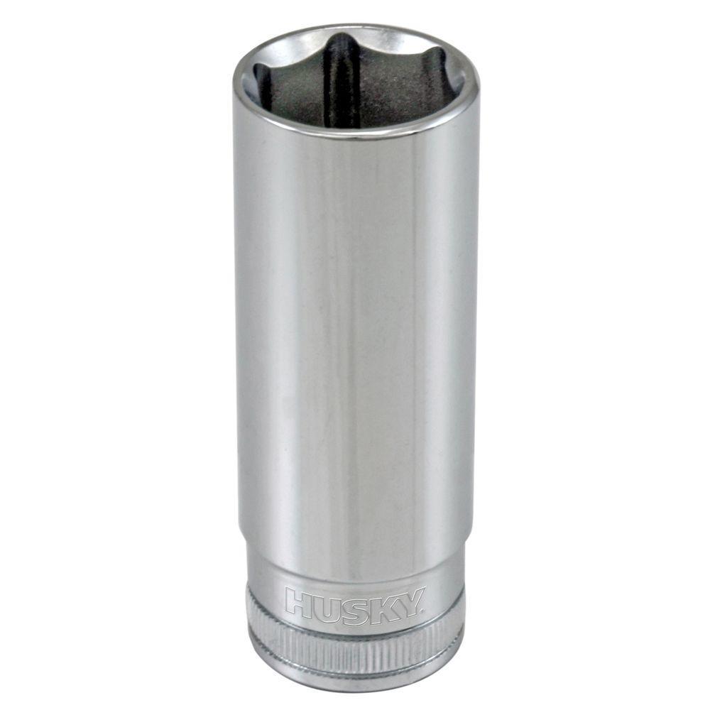 3/8 in. Drive 17 mm 6-Point Metric Deep Socket