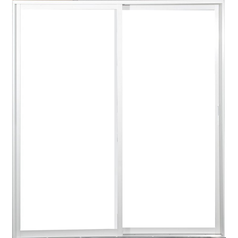AWP 72 in. x 80 in. Aluminum Sliding Patio Door
