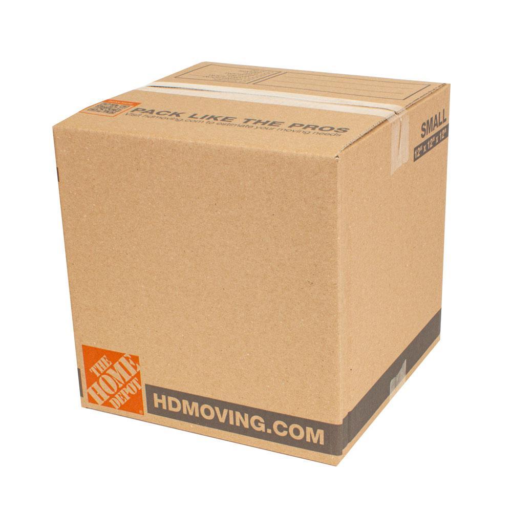 12 in. L x 12 in. W x 12 in. D Standard Moving Box (15-Pack)