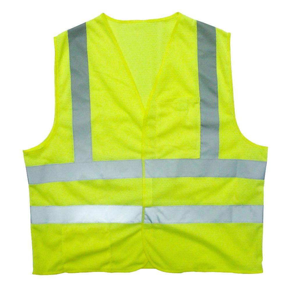 21bebad82bdb Cordova Large Flame Resistant Class 2 High Visibility 2 Pocket Safety Vest