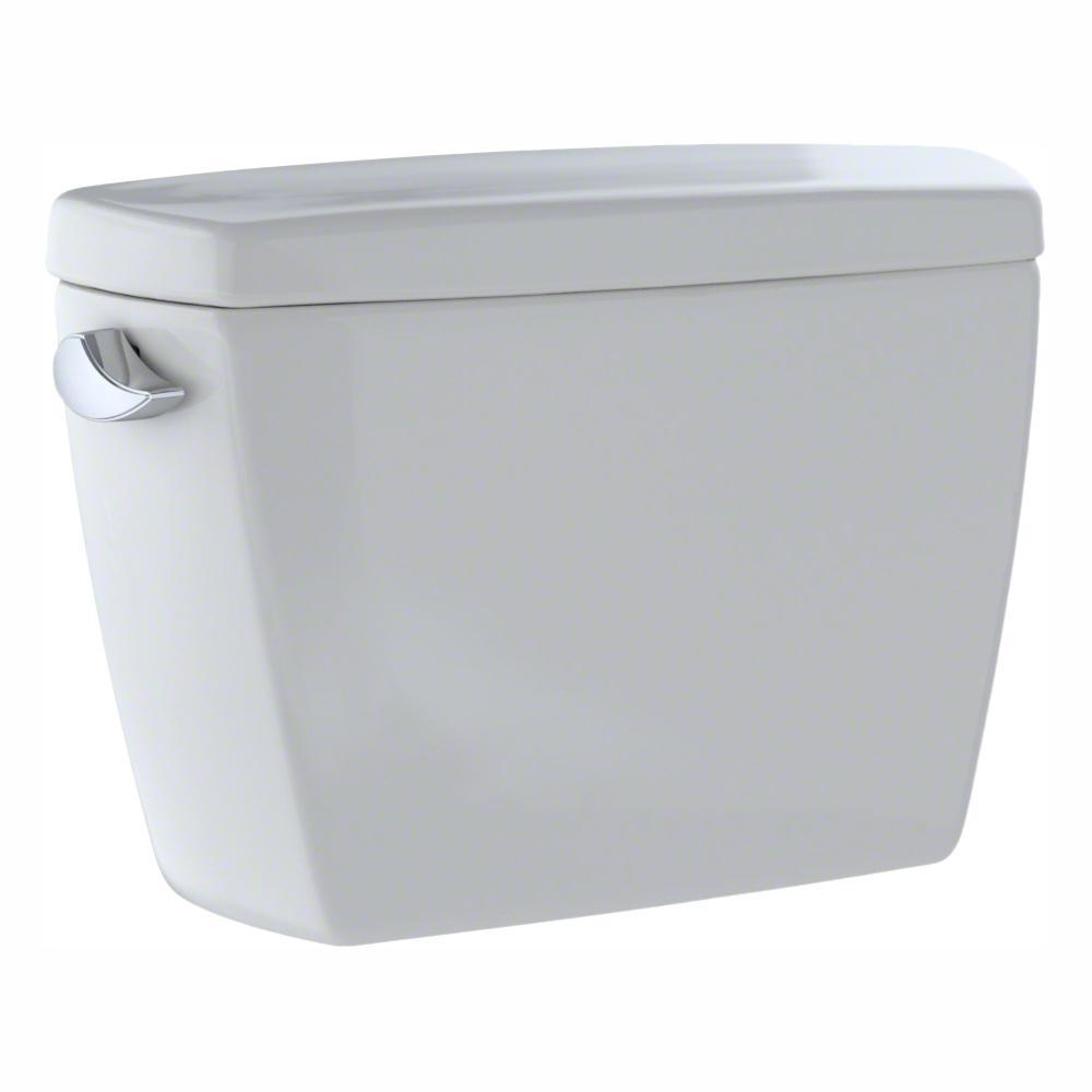 TOTO Eco Drake 1.28 GPF Single Flush Toilet Tank Only in Colonial White