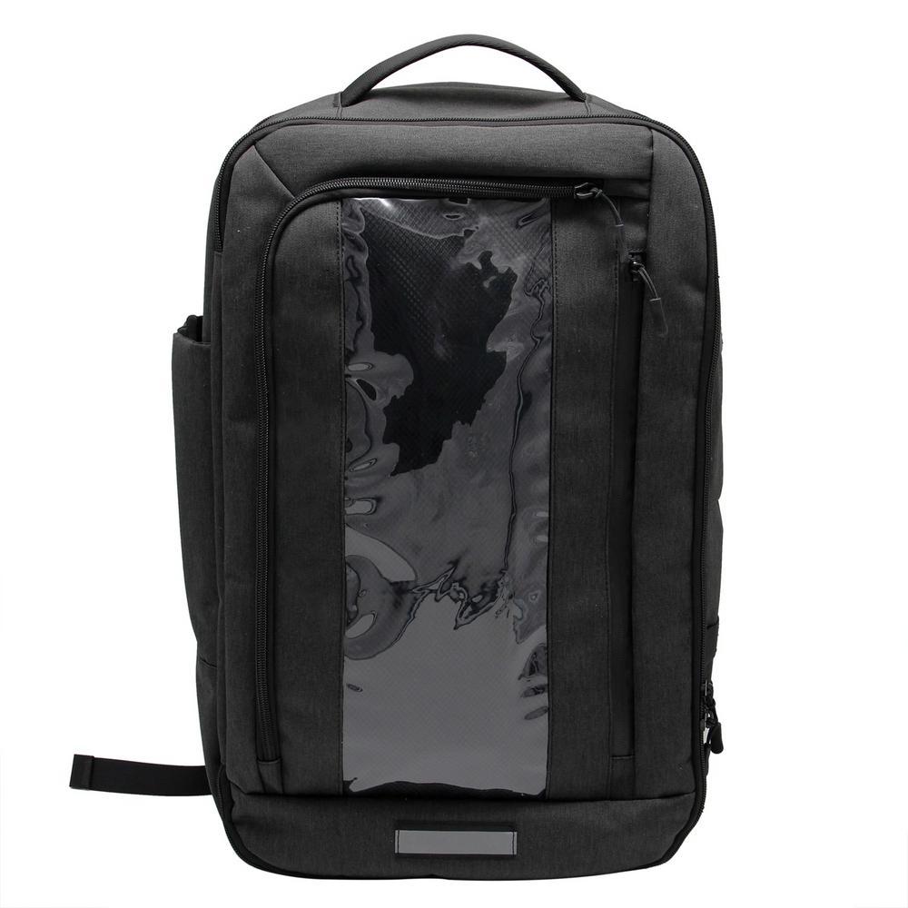 14 in. Black Shield Backpack