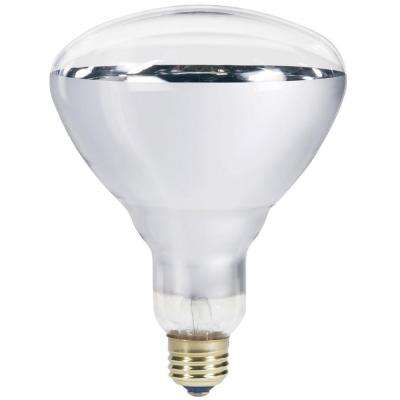 250-Watt 120-Volt Incandescent BR40 Heat Lamp Light Bulb