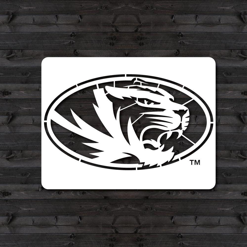 """Missouri """"Tiger"""" Mini Stencil"""