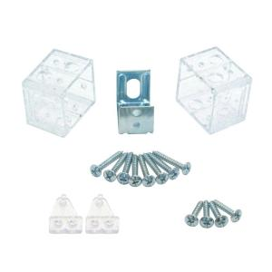 1 In Clear Pvc Replacement Brackets 10793478027019 The