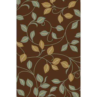 Hamam Collection Brown 5 ft. x 7 ft. Area Rug