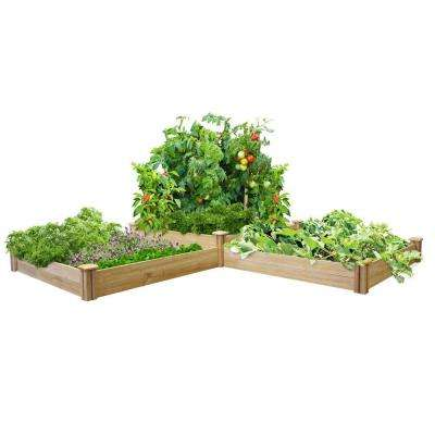 Two Tiers Dovetail Raised Garden Bed