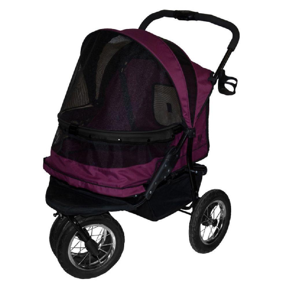 Pet Gear 27 in. x 20 in. x 23 in. Boysenberry No-Zip Doub...