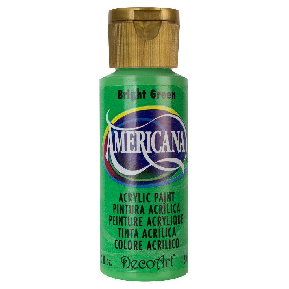 Americana 2 oz. Bright Green Acrylic Paint