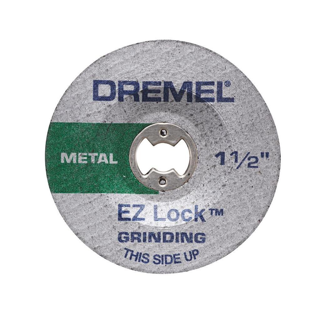 EZ Lock Metal Grinding Rotary Tool Wheel for Metal