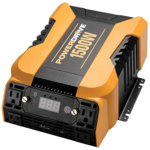 PowerDrive 3000-Watt Power Inverter with 4 AC 2 USB APP with