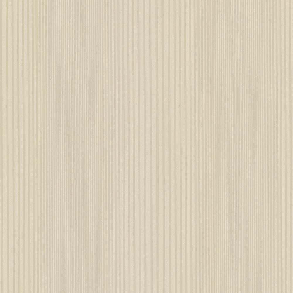 Brewster Alpha Beige Ombre Stripe Wallpaper-HZN43043