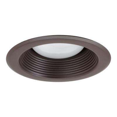 NICOR 5 in. Oil Rubbed Bronze Recessed Baffle Trim