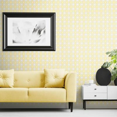 Yellow Peelable Wallpaper Home Decor The Home Depot