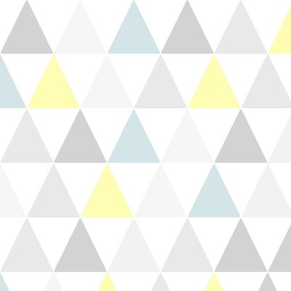 Symmetry Tarek Yellow / Blue Removable Wallpaper