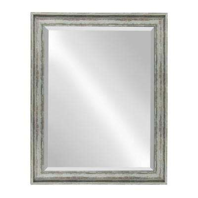 McKinley Rectangle Teal Mirror