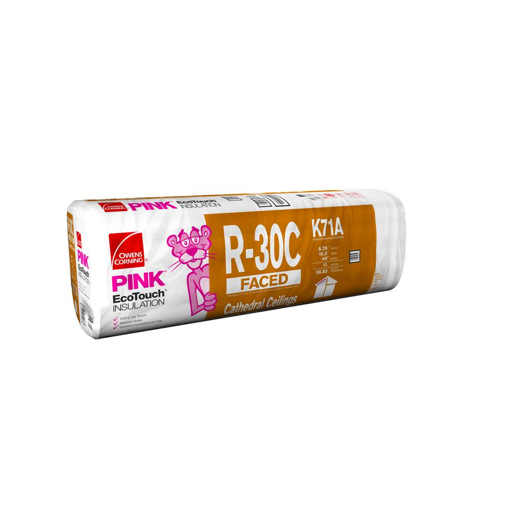 R-30 Cathedral Kraft Faced Insulation Batts 15-1/2 in. x 48 in.