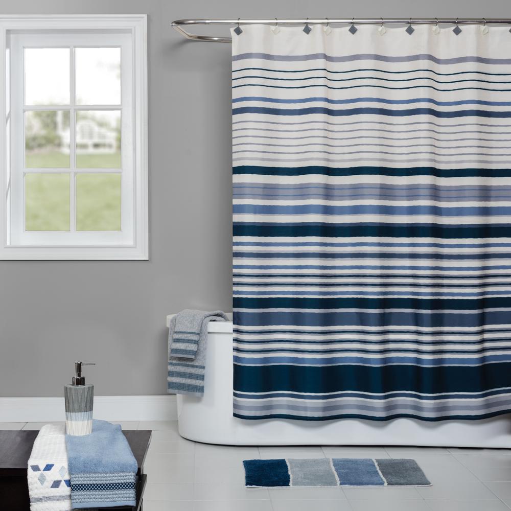 Resin Freestanding Shower Curtain Hooks