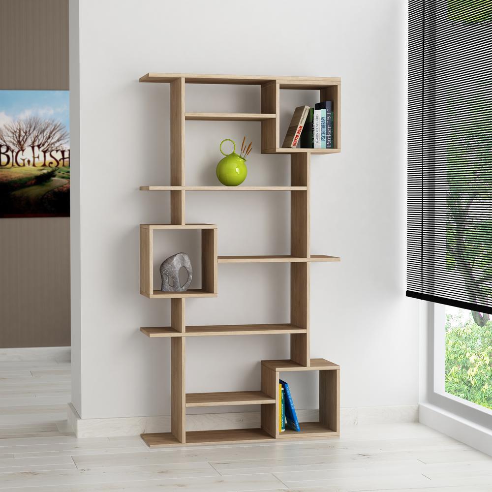 Fabulous Barrett Oak Mid Century Modern Bookcase Uwap Interior Chair Design Uwaporg