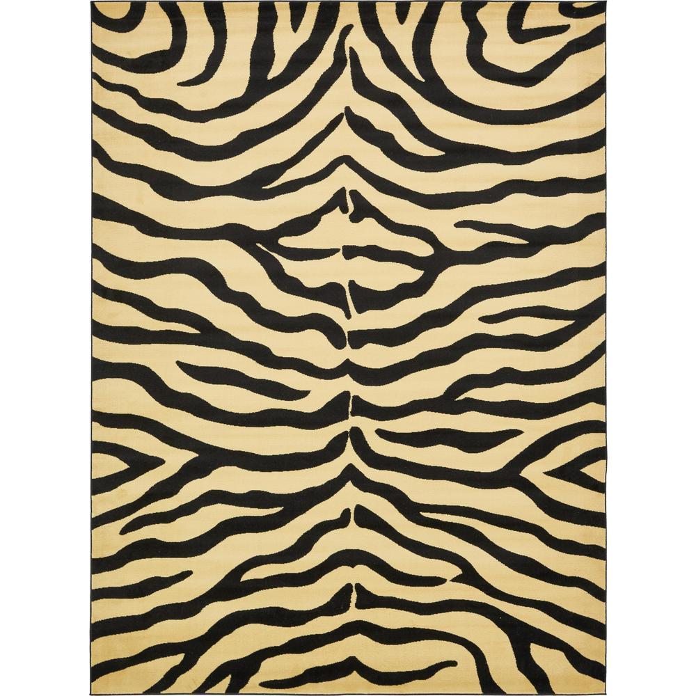 Wildlife Cream 9 X 12 Rug