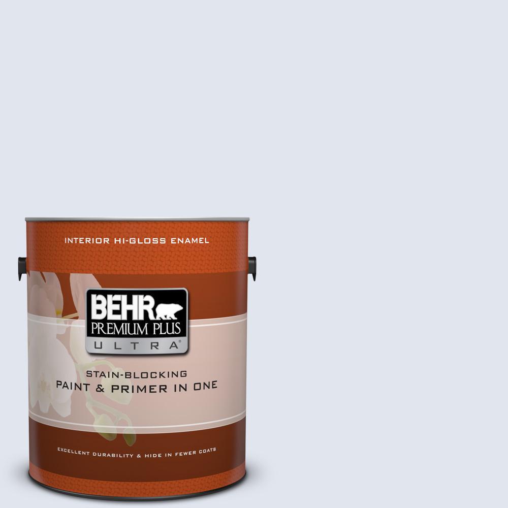 1 gal. #600E-1 Genteel Lavender Hi-Gloss Enamel Interior Paint