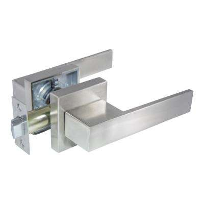 Senna Premium Satin Nickel Passage Hall/Closet Door Lever